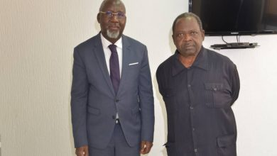 Photo de Presse et intégration africaine: le ministre Alcide Djédjé prêt à accompagner L'UJPLA